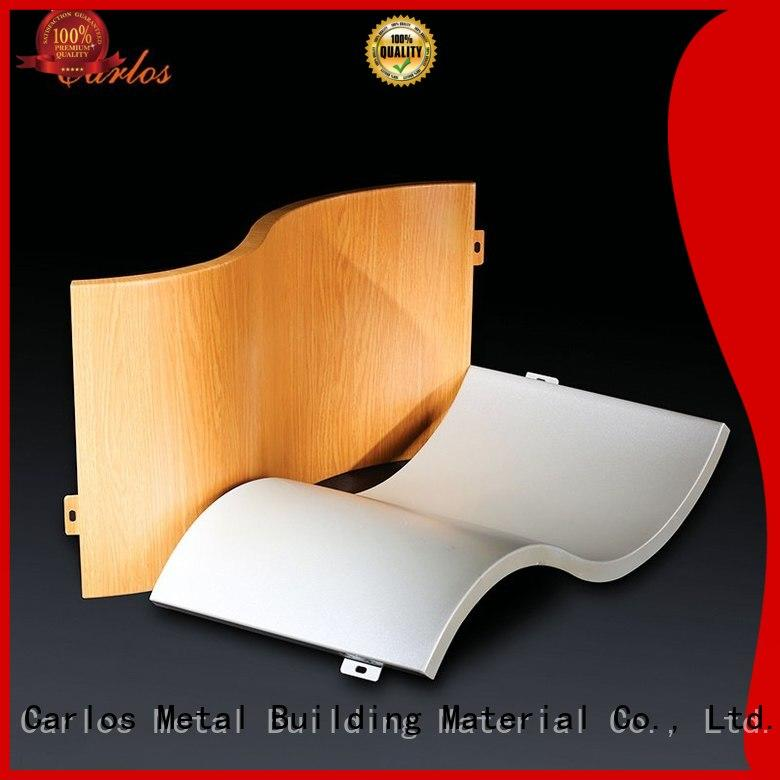 Carlos wavy aluminium composite panel price sewing for decoration
