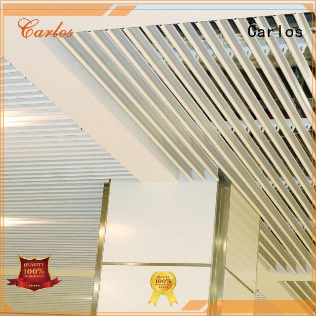 Hot perforated metal ceiling tiles suppliers netting metal ceiling Carlos Brand