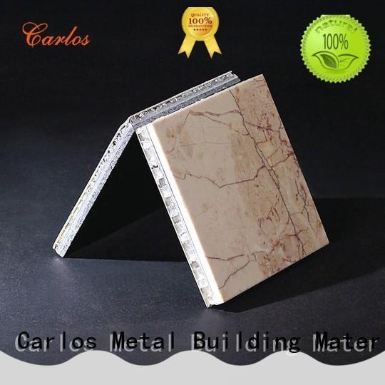 durable aluminium honeycomb sandwich panel panels customized for construction