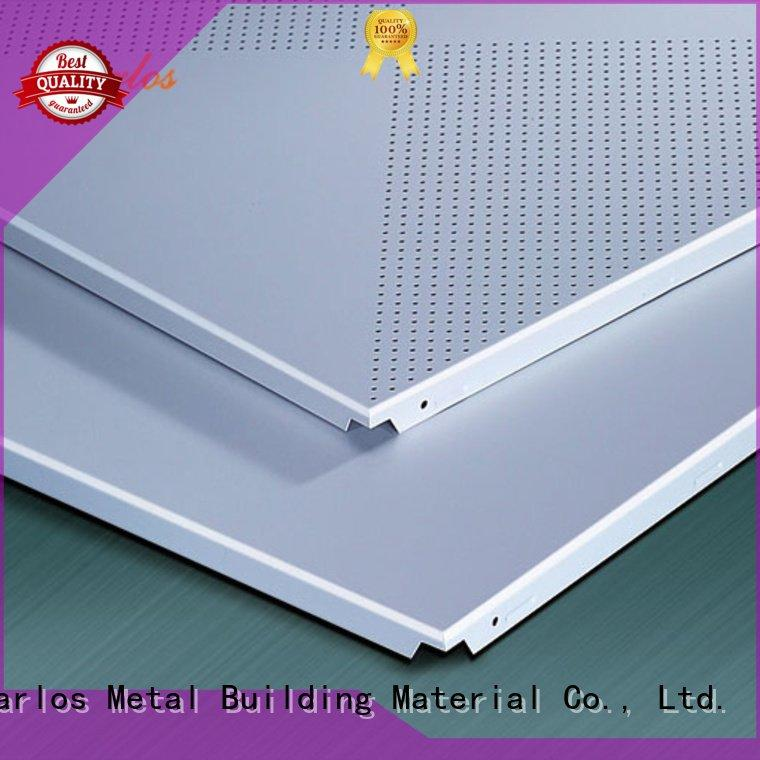 Carlos Brand ceilings square ceiling perforated metal ceiling tiles suppliers