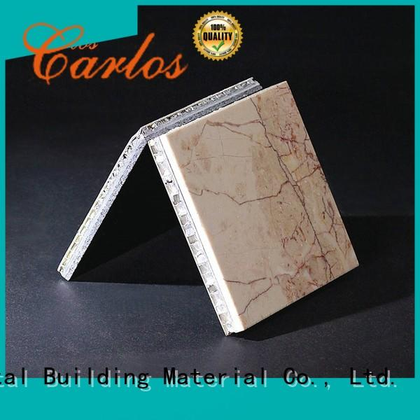 stone aluminum honeycomb panel panels for buildings Carlos