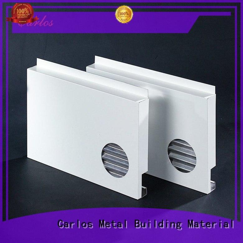 Custom hyperbolic package aluminum panels Carlos hollow
