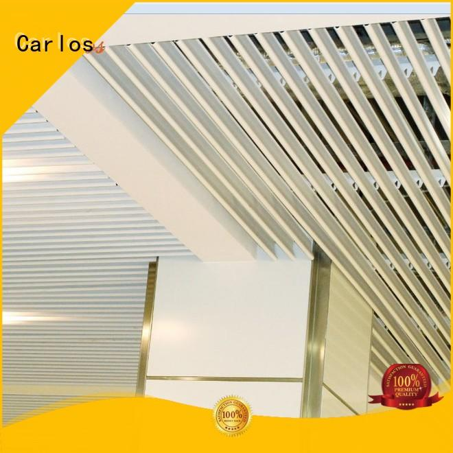 square metal ceiling panels netting Carlos company