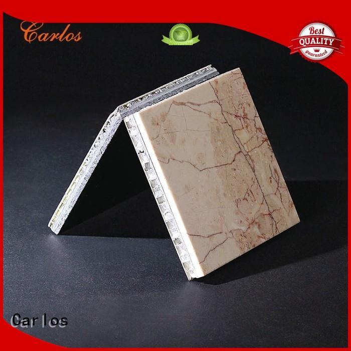 panels structure surface aluminum honeycomb sheet Carlos Brand company