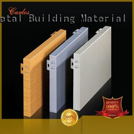 flat panel aluminum Carlos aluminum wall panels exterior
