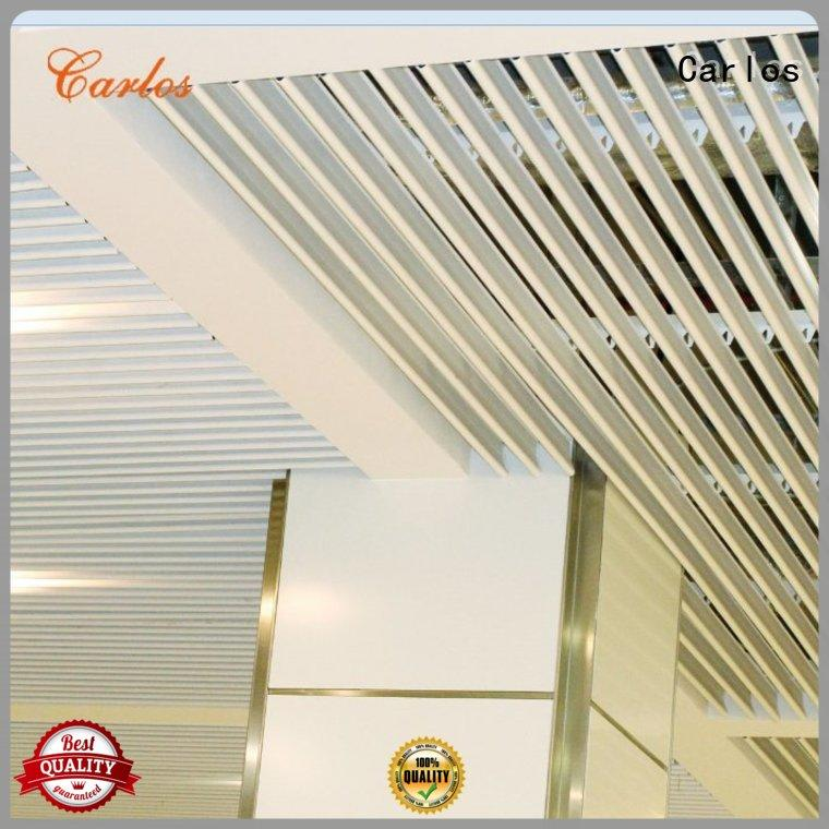Carlos Brand netting grille blade perforated metal ceiling tiles suppliers