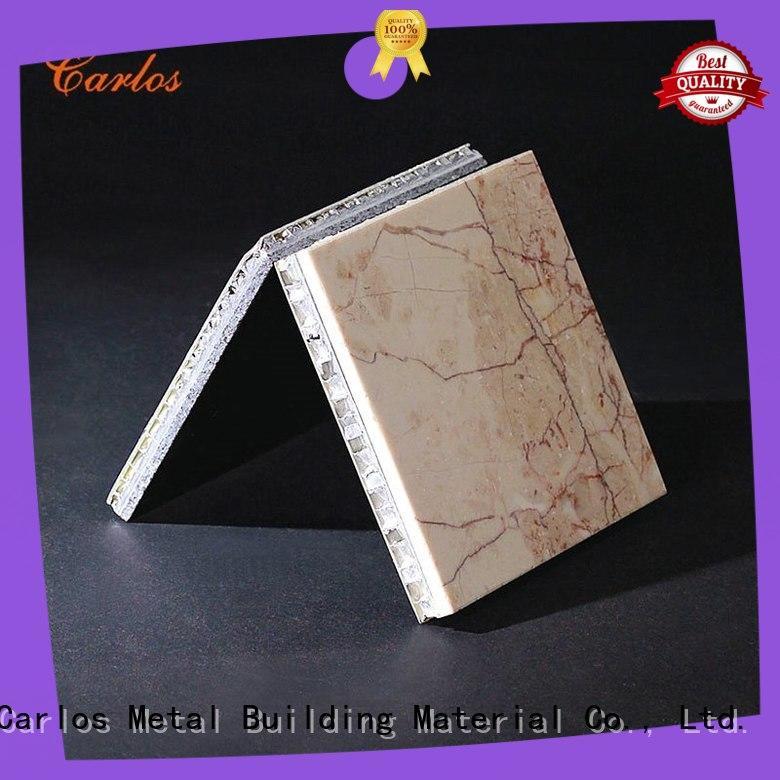 Carlos High-quality aluminum honeycomb board Supply