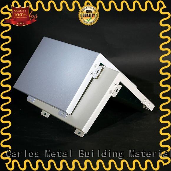 Custom exterior aluminum panels column manufacturers
