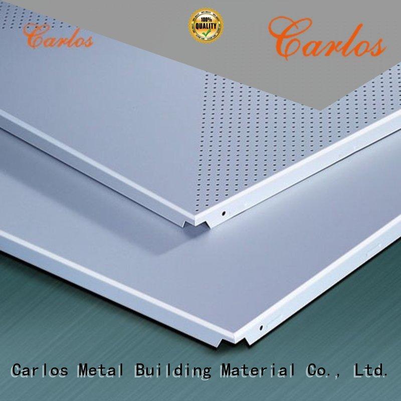 Carlos New drop ceiling panels company