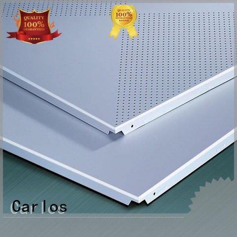 Carlos Brand ceilings grille metal ceiling panels series ceiling