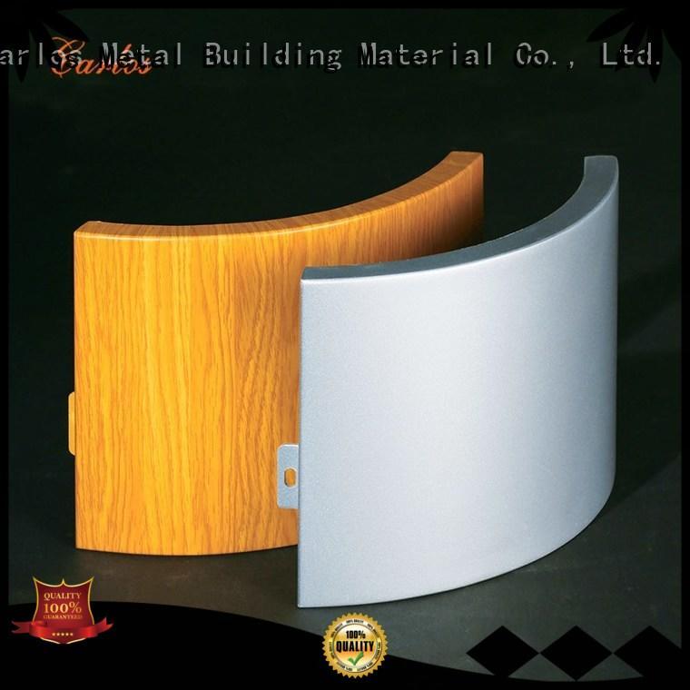 corrugated aluminium cladding panels design for roof