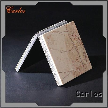 Carlos panels stone aluminum honeycomb panel factory