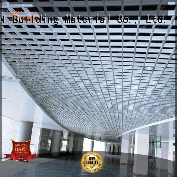 Carlos Brand square buckle metal ceiling panels ceilings metal
