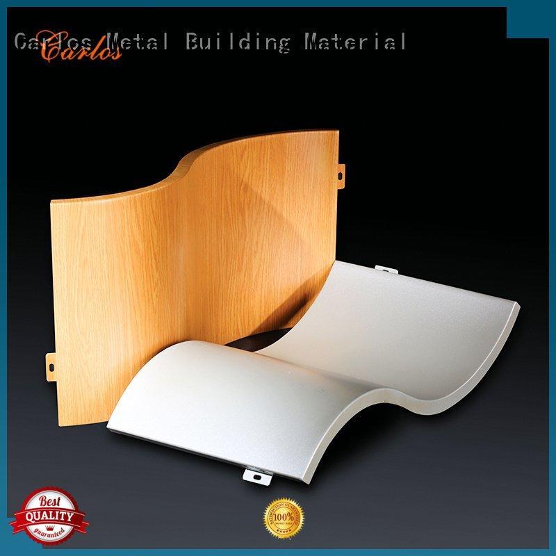 Carlos Brand bag veneer package aluminum wall panels exterior