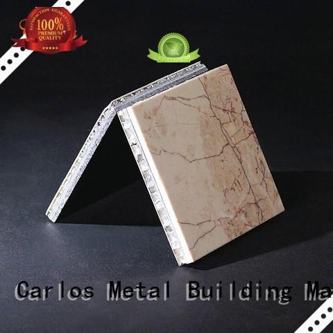 Quality Carlos Brand coating surface aluminum honeycomb sheet