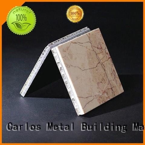 structure aluminum composite Carlos Brand aluminum honeycomb panels for sale factory