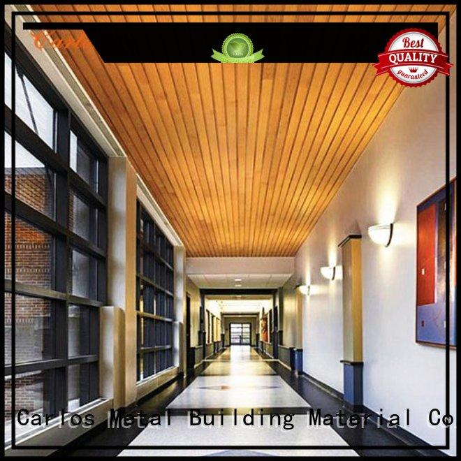 Carlos Brand buckle perforated metal ceiling tiles suppliers ceilings supplier