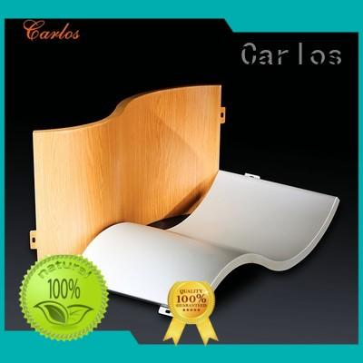 Wholesale square aluminum panels Carlos Brand