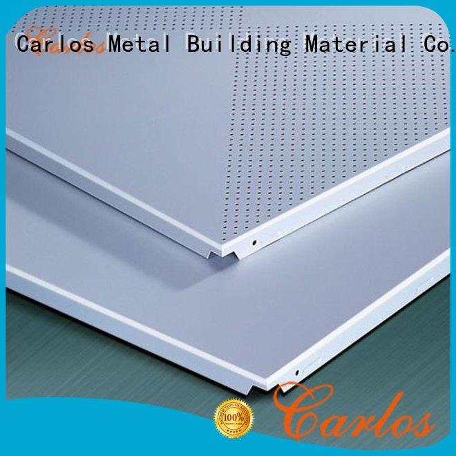 blade drop ceiling panels series customized for construction