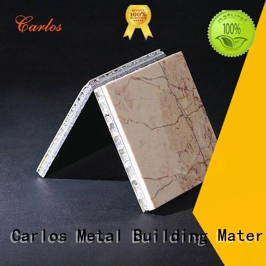 Carlos panels aluminium honeycomb sheet Supply