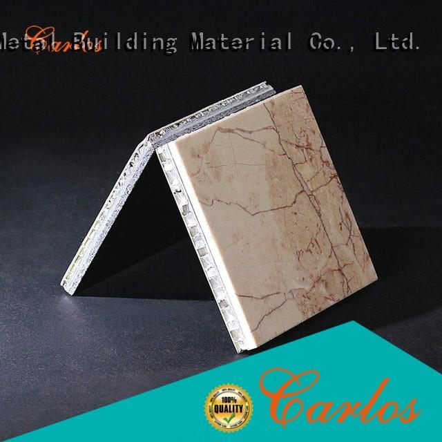 panels aluminium honeycomb sandwich panel customized for decoration Carlos
