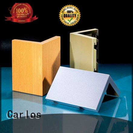 bag sewing hollow Carlos aluminum wall panels exterior