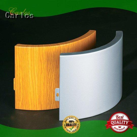 OEM aluminum wall panels exterior corrugated column bag aluminum panels