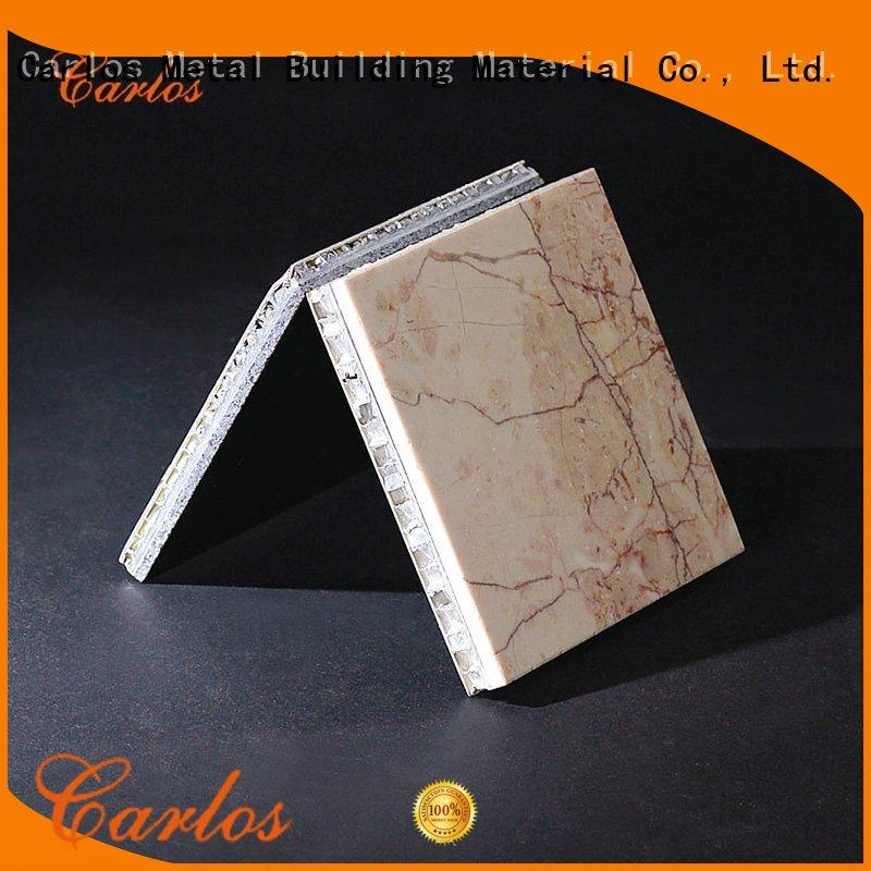 modern stone aluminum honeycomb panel panelssupplier for roof