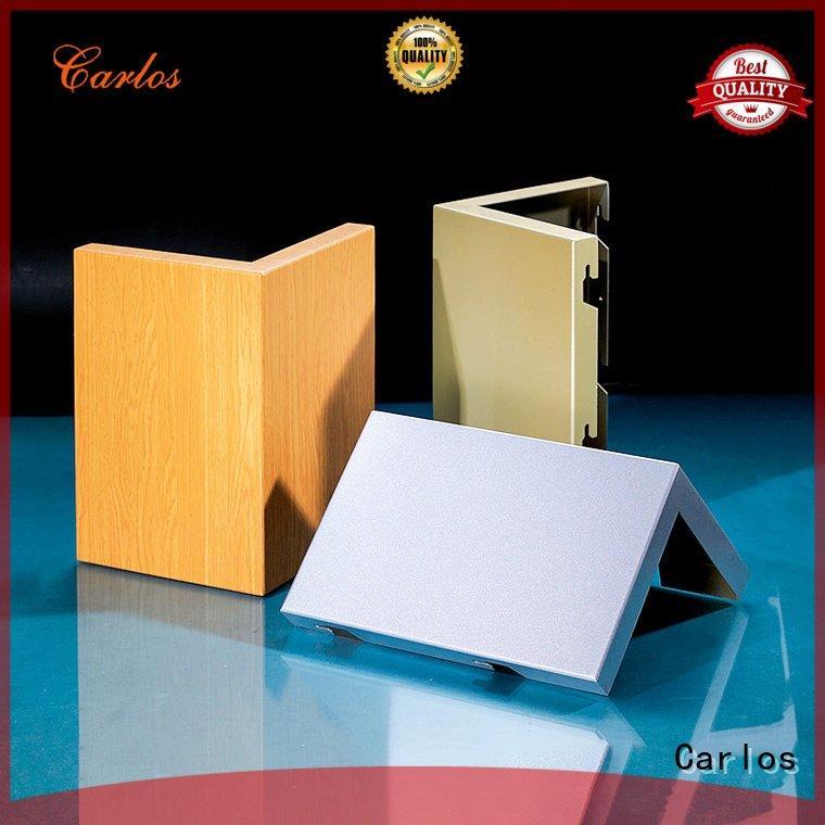 Carlos Brand metal panel flatseam aluminum panels aluminum