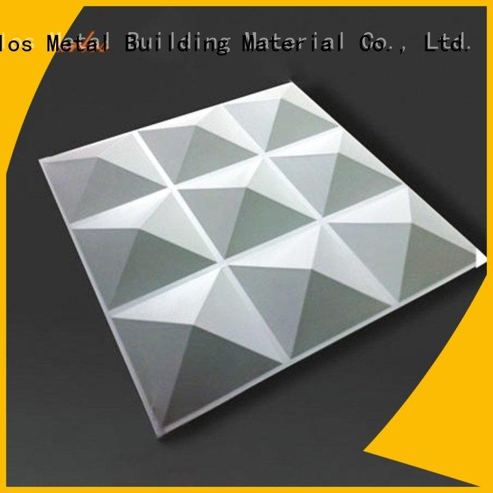 Latest exterior aluminum panels art factory