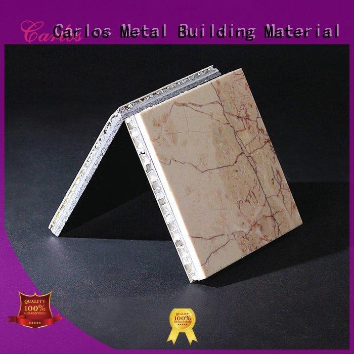 Carlos hollow aluminum honeycomb sheet modeling bag