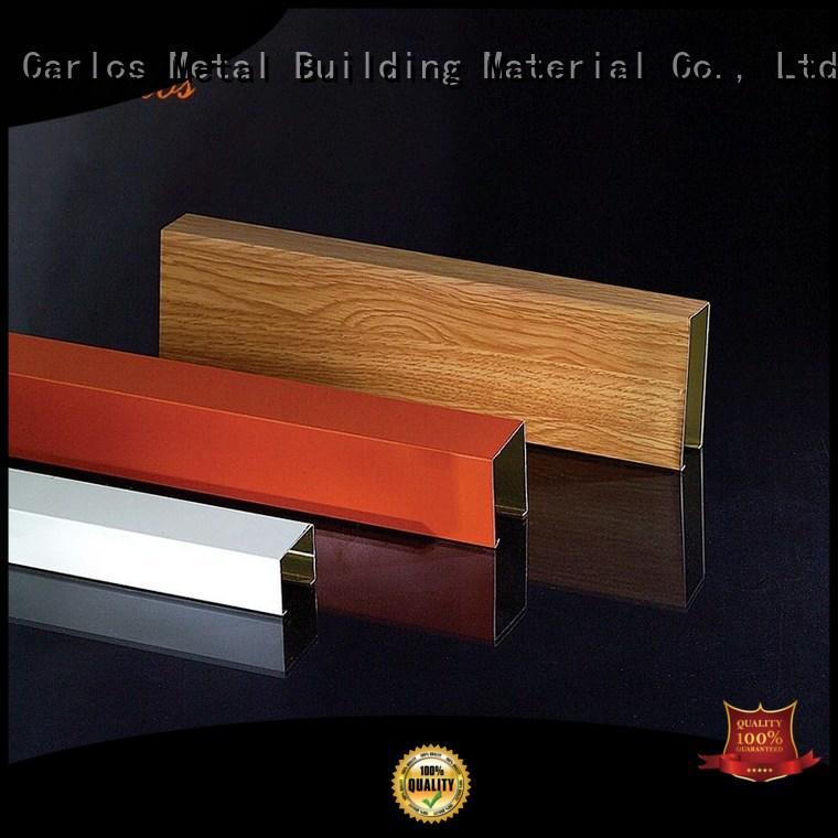 Carlos Brand series ceiling perforated metal ceiling tiles suppliers blade