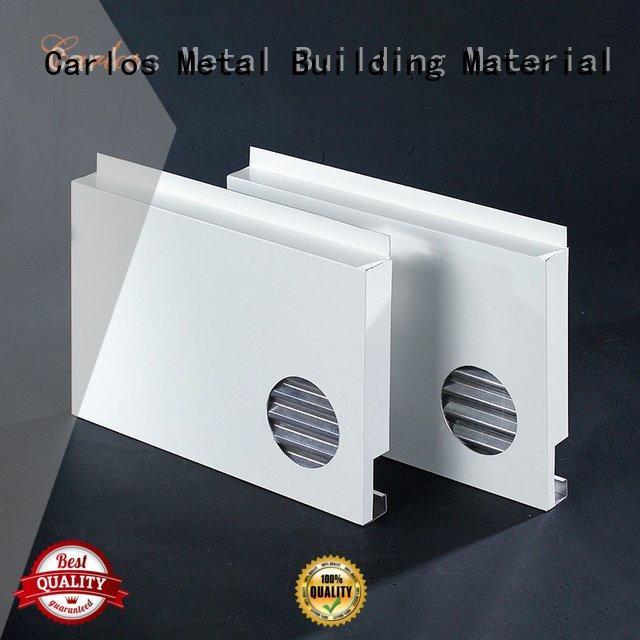 Carlos aluminum panels metal seamless sewing aluminum