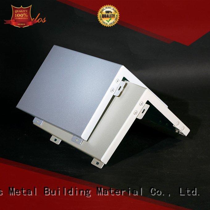 OEM aluminum panels columns square aluminum wall panels exterior