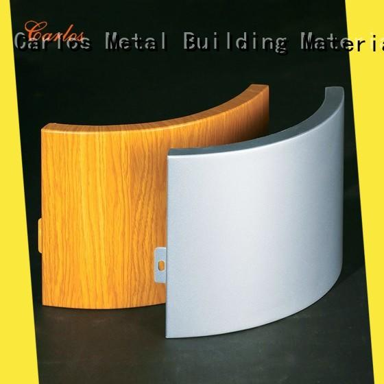 Custom aluminium cladding panels square for business