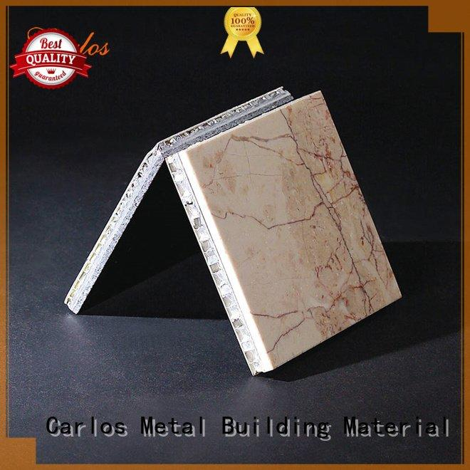 Carlos panels seamless metal aluminum honeycomb panels for sale round