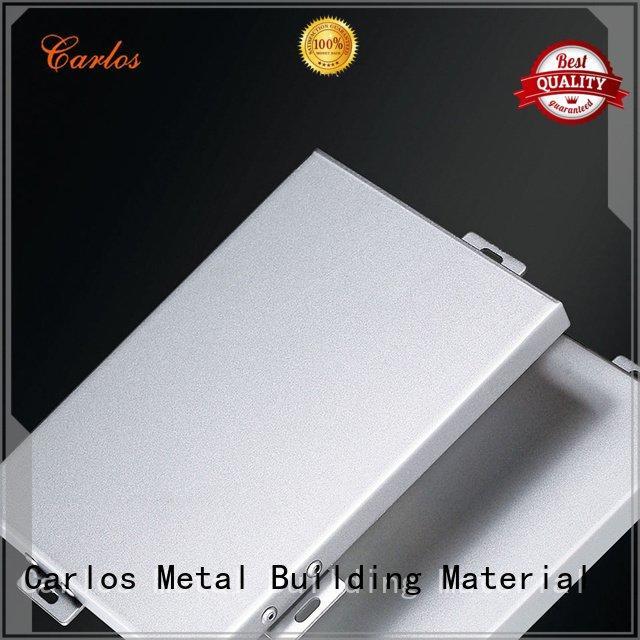 Hot aluminum wall panels exterior modeling aluminum panels flatseam Carlos