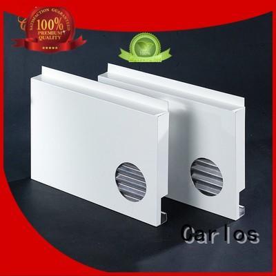 Carlos round aluminium composite panel design for internal wall