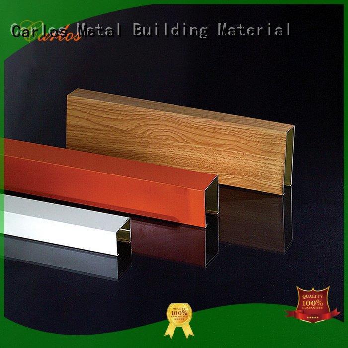 Custom series metal ceiling panels blade perforated metal ceiling tiles suppliers
