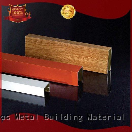perforated metal ceiling tiles suppliers through square OEM metal ceiling panels Carlos