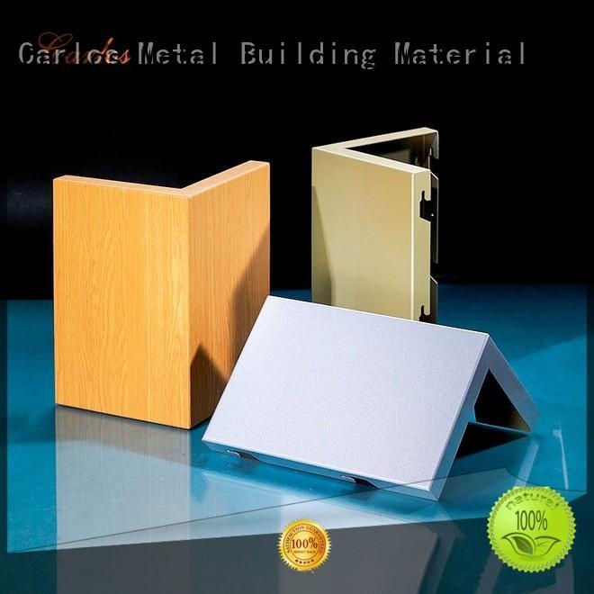 Quality Carlos Brand square aluminum panels
