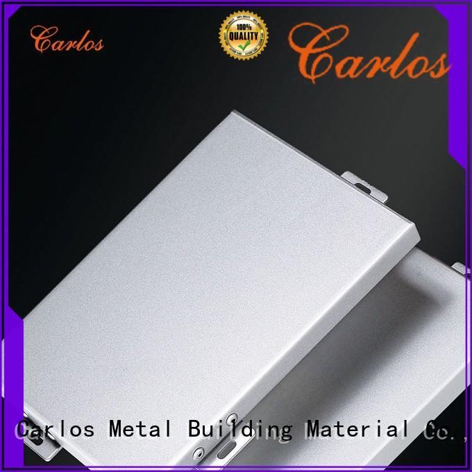 Carlos circular aluminium composite sheet supplier single for exterior wall