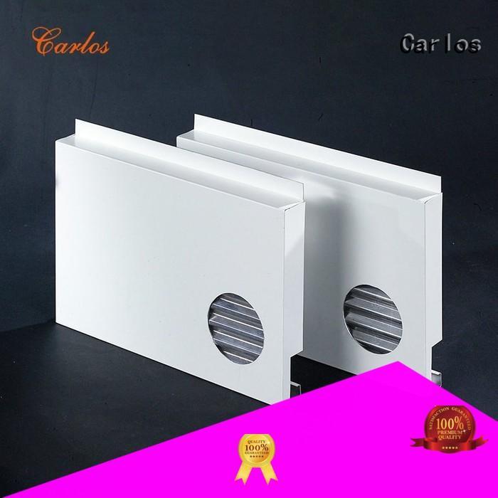 Carlos metal aluminium cladding suppliers veneer for exterior wall