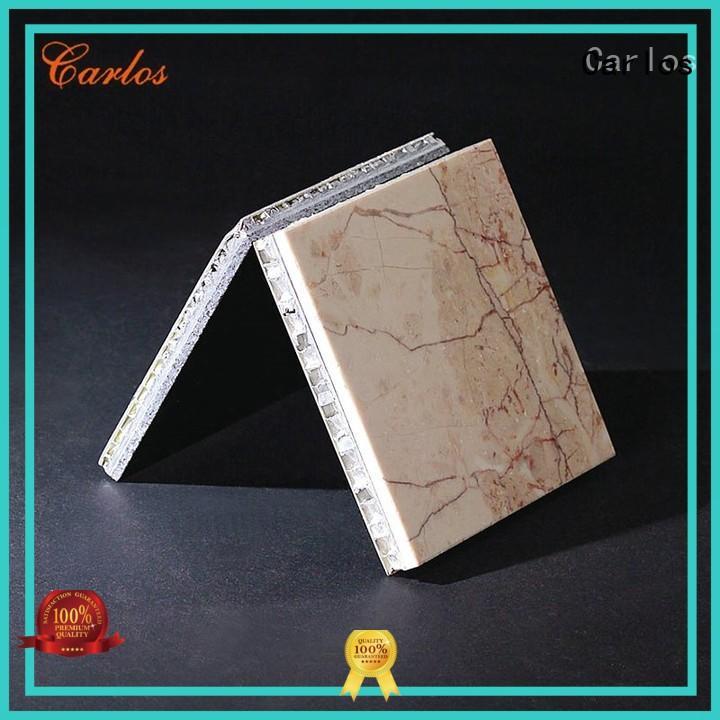Carlos honeycomb aluminium honeycomb sheet customized for roof