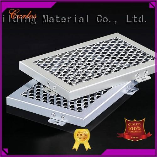 buckle metal blade Carlos Brand perforated metal ceiling tiles suppliers manufacture