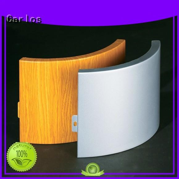 bag round hollow OEM aluminum panels Carlos