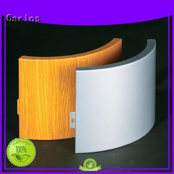 bag round hollow OEM aluminum panels Carlos