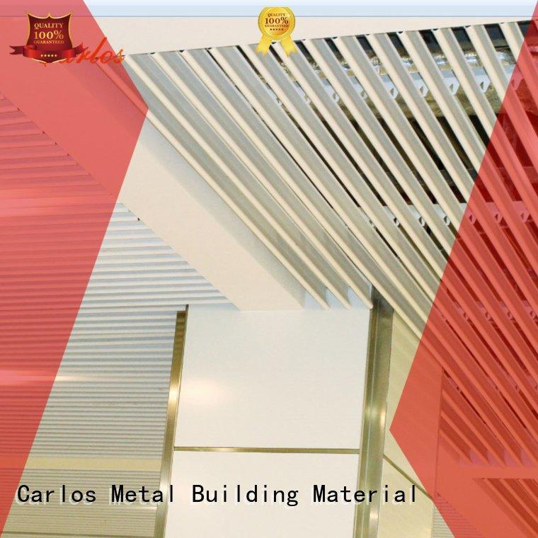 through metal ceiling panels square ceilings Carlos