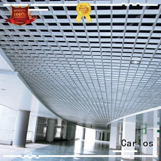 Quality Carlos Brand perforated metal ceiling tiles suppliers baffle ceilings
