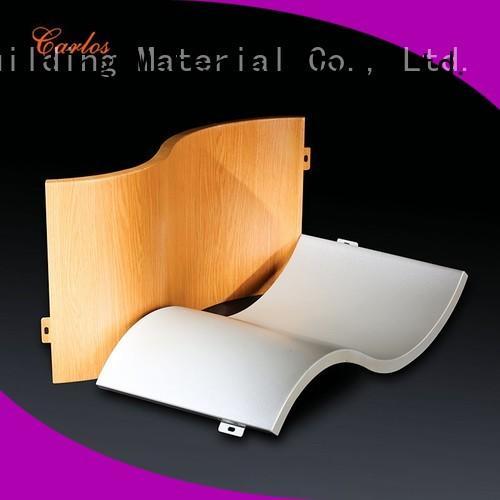 Custom aluminum wall panels hollow manufacturers